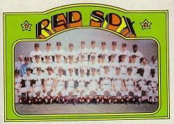 1972 Topps Baseball Cards      328     Boston Red Sox TC
